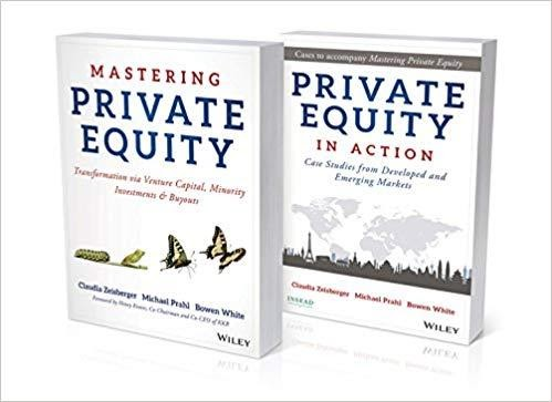 Mastering Private Equity Set by CLAUDIA ZEISBERGER